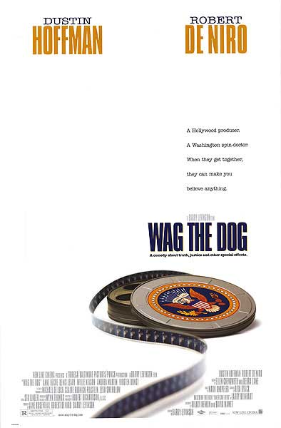 Wag the Dog  Best Boy / Gaffer, Video Unit Barry Levinson, Director Robert Richardson, ASC, Director of Photography Daryl Studebaker, Director of Photography Russell Steen, Gaffer