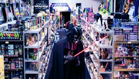 """Most Impressive""   A look at Stephen Sansweet's Rancho Obi-Wan, one of the largest private  Star Wars  collections in the world."