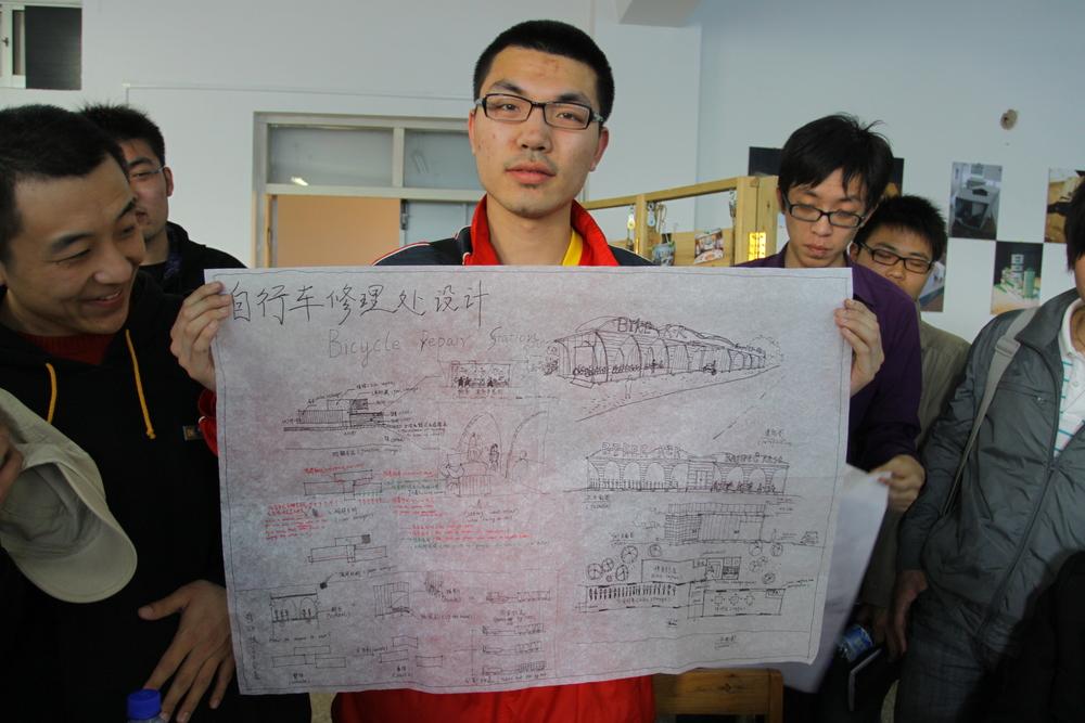 qingdao university architecture bicycle station workshop.jpeg