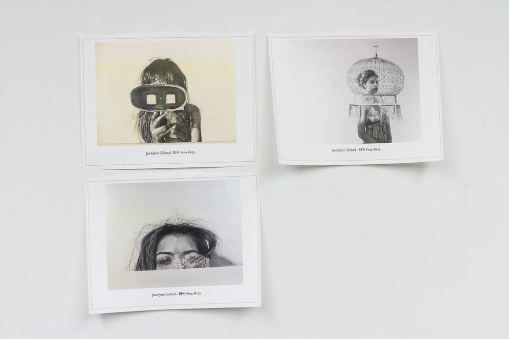 Works by Jocelyne Gilead - BFA Fine Arts
