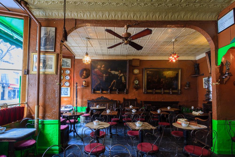 Caffe' Reggio (1927,) 119 MacDougal Street, New York NY
