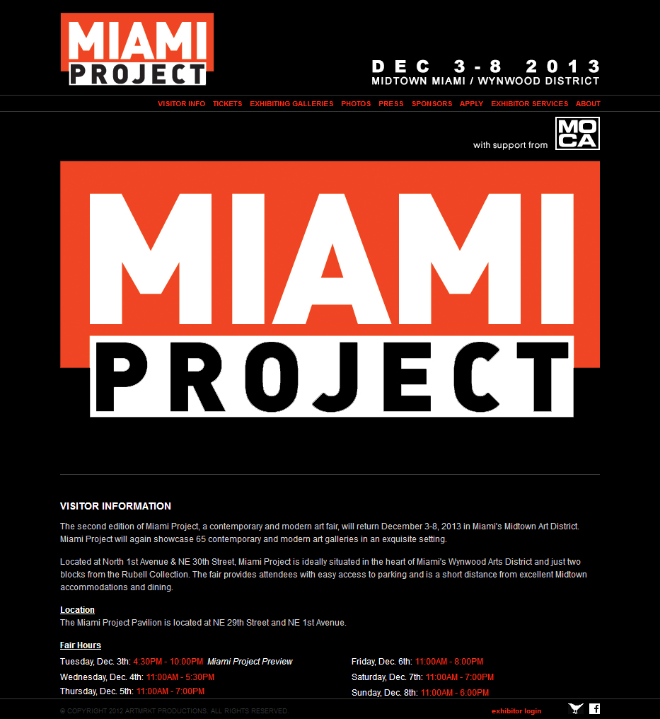 Miami Project Official Website