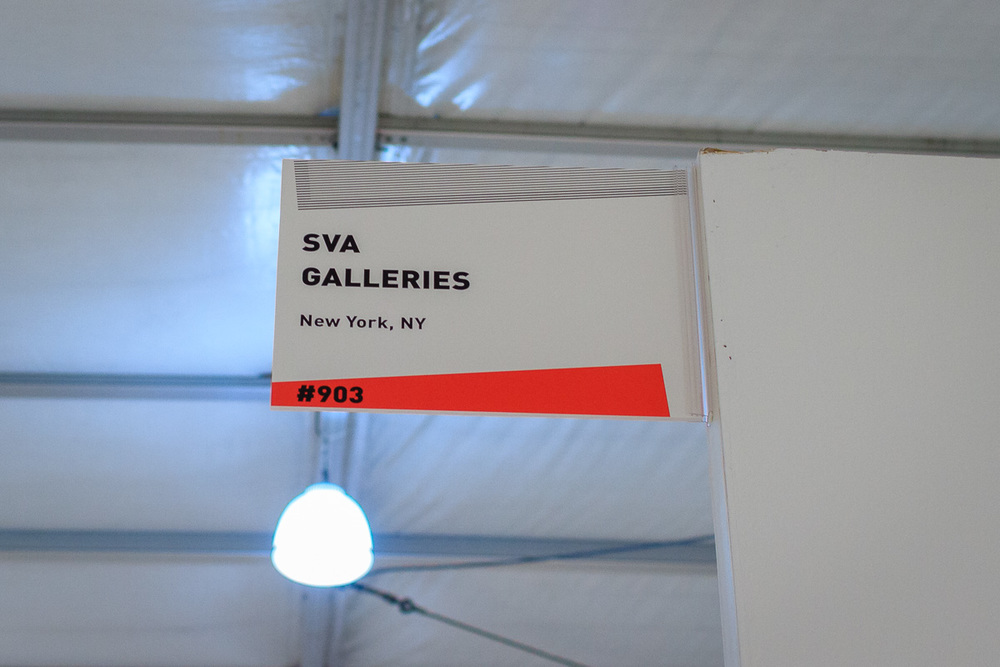 SVA Galleries Location Signage