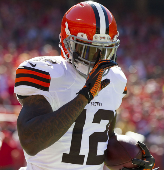 Cleveland Browns and NFL leading receiver Josh Gordon faces a year long ban for a second positive marijuana test.