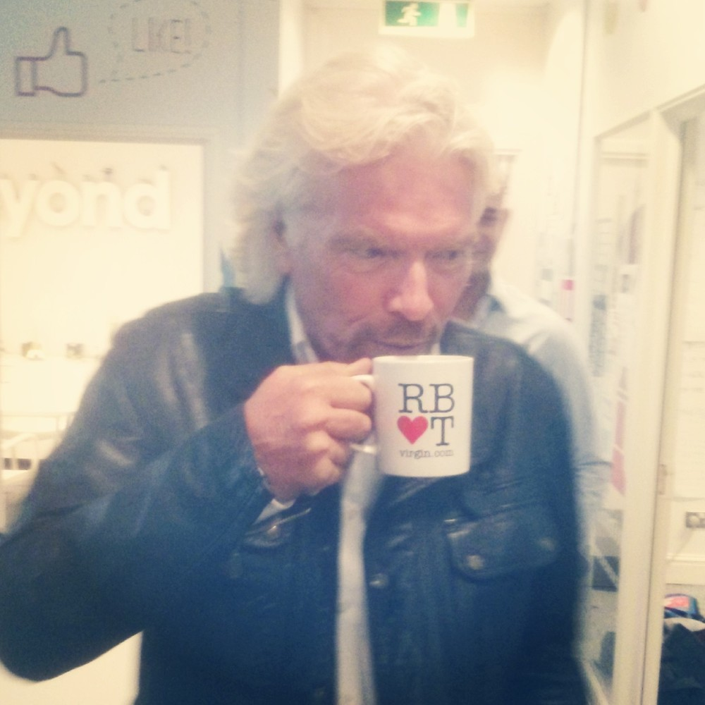 We made him tea, as you do