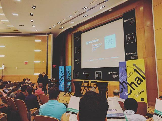 Back at #NYU with @bynd's very own #AlMoney (@albeit), #NickDawg (@nickmanluccia) and $CoXXX (@ian.cox) for #Stern's $300K Entrepreneurs Challenge Accelerator #innovation #venture