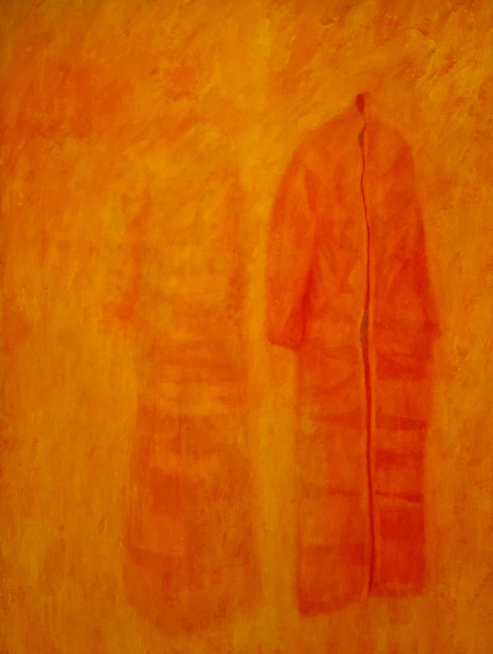 Fading 1. 2012 Acrylic on calico 160 x 120cm