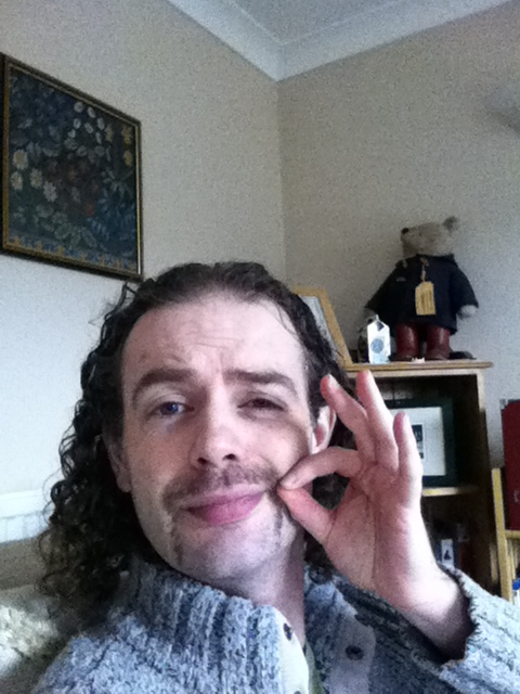 Day 15 - failed attempt at moustache twirling
