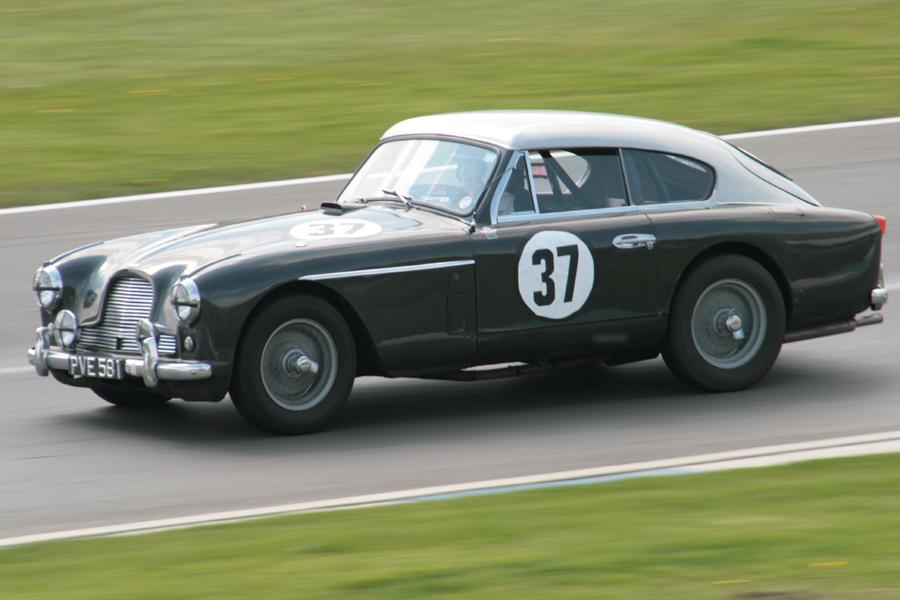 Nigel Grice - Aston Martin DB2/4