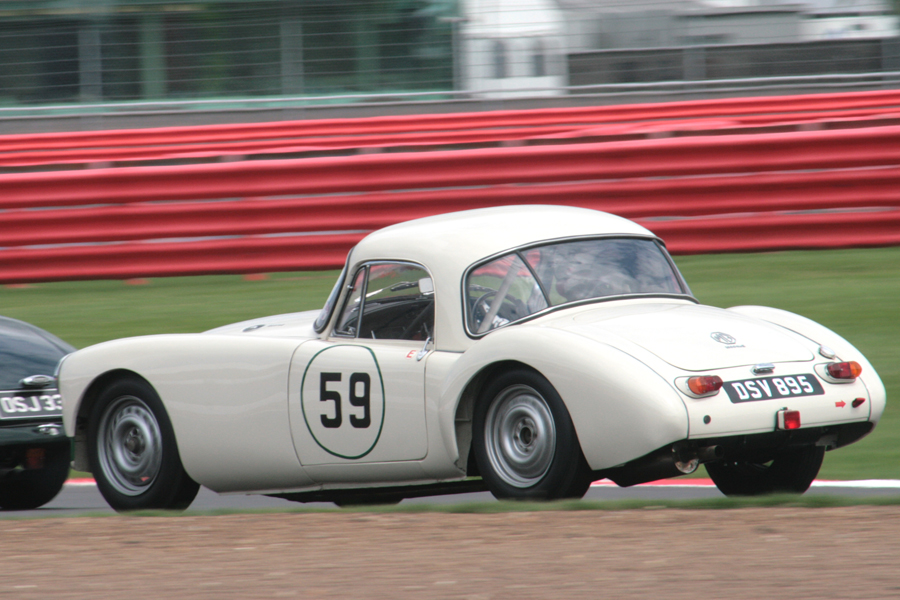 Simon Gurney's pretty MGA Coupe