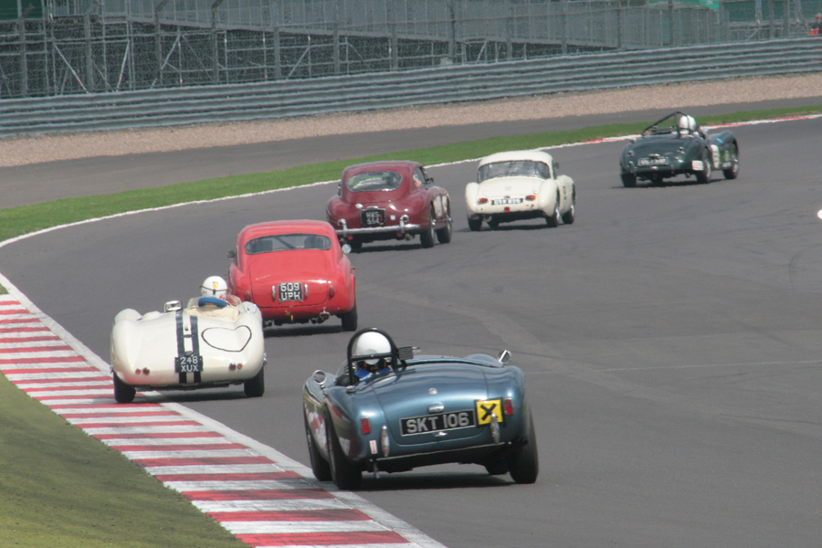 Glorious 6 car dice went on for many laps