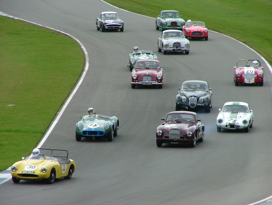 Lovely MGCC Donington   8 April 2012