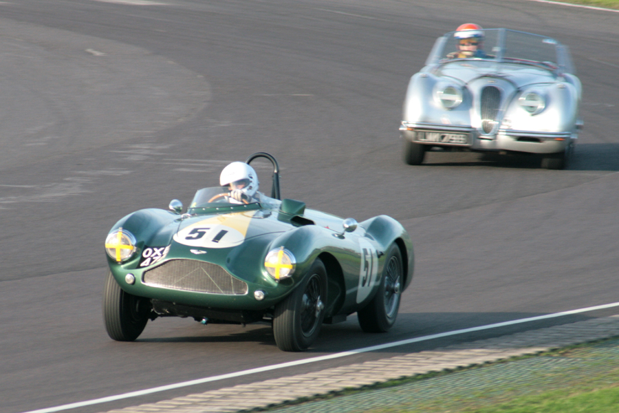 Surely one of our frontrunners next season. Steven Boultbee Brooks in his DB3S  photo - John  Turner