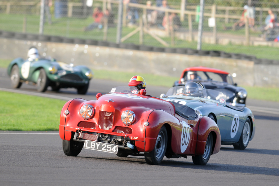John Arnold, hoping to be part of a team of 3 Jowett Jupiters next year. What a sight that would make!
