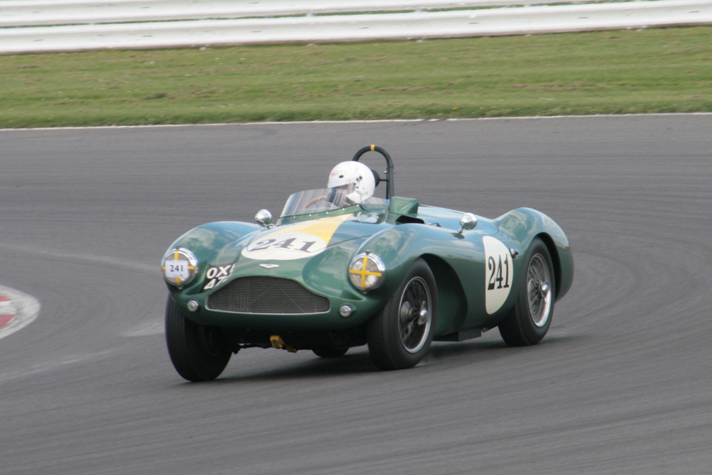 The ever enthusiastic Steve Boultbee-Brooks was out again in the DB3S but failed to finish due to clutch problems