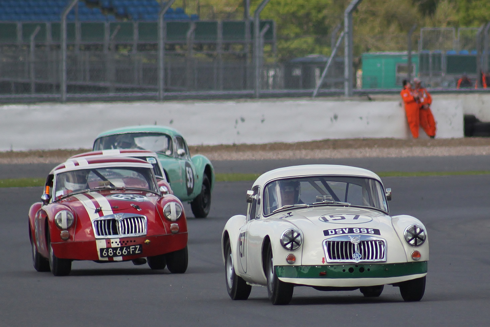 MG Marvels Team, led here by Simon Gurney    - Photo - Bob Bull