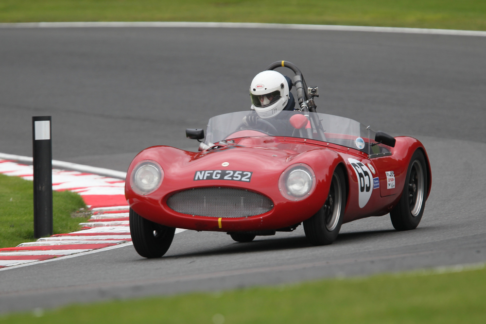 Stephen Cooper in his FISCAR FLIER, the Cooper MG.                                                      Photo - Mick Walker
