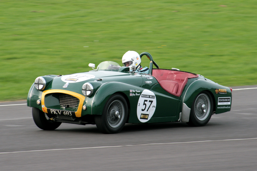 Great to see Neil Fender out in the TR2. He qualified 20th and finished 17th                  Photo - John Turner