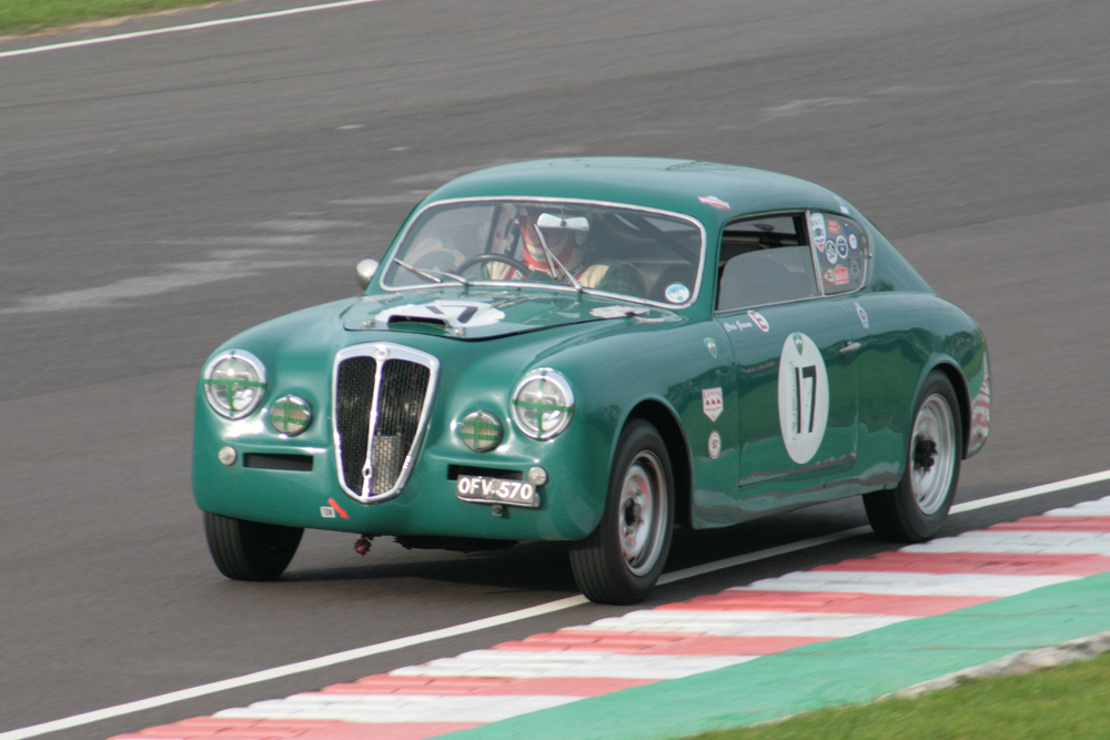 Splendid  Lancia Aurelia B20 GT Series III finished 30th in the hands of Chris Gawne.       Photo - John Turner