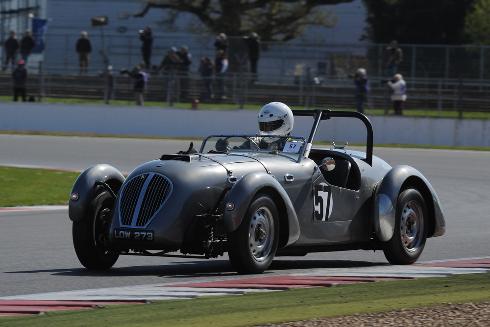 John  KeAtLEY (hEALEY sILVERSTONE) FINISHED 3RD IN CLASS                                                                pHOTO - jEFF bLOXHAM
