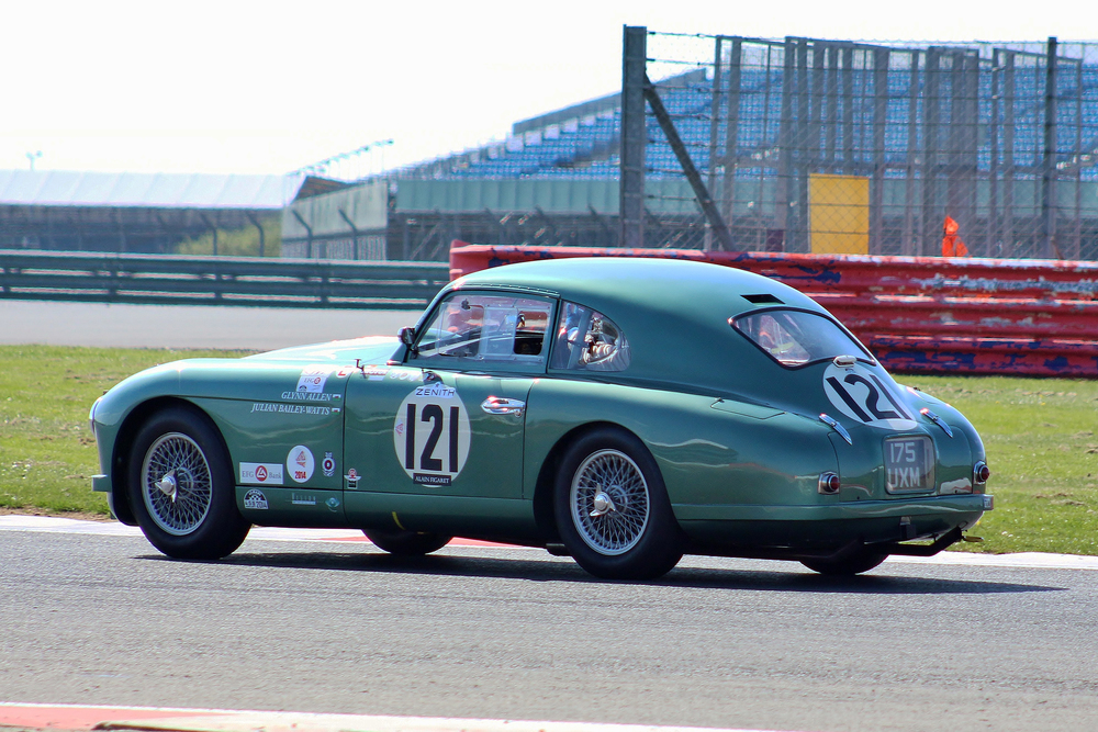Glynn Allen  on his way to  14th overall and winner of class 2  in his DB2                                photo - Bob Bull, Tripos media-