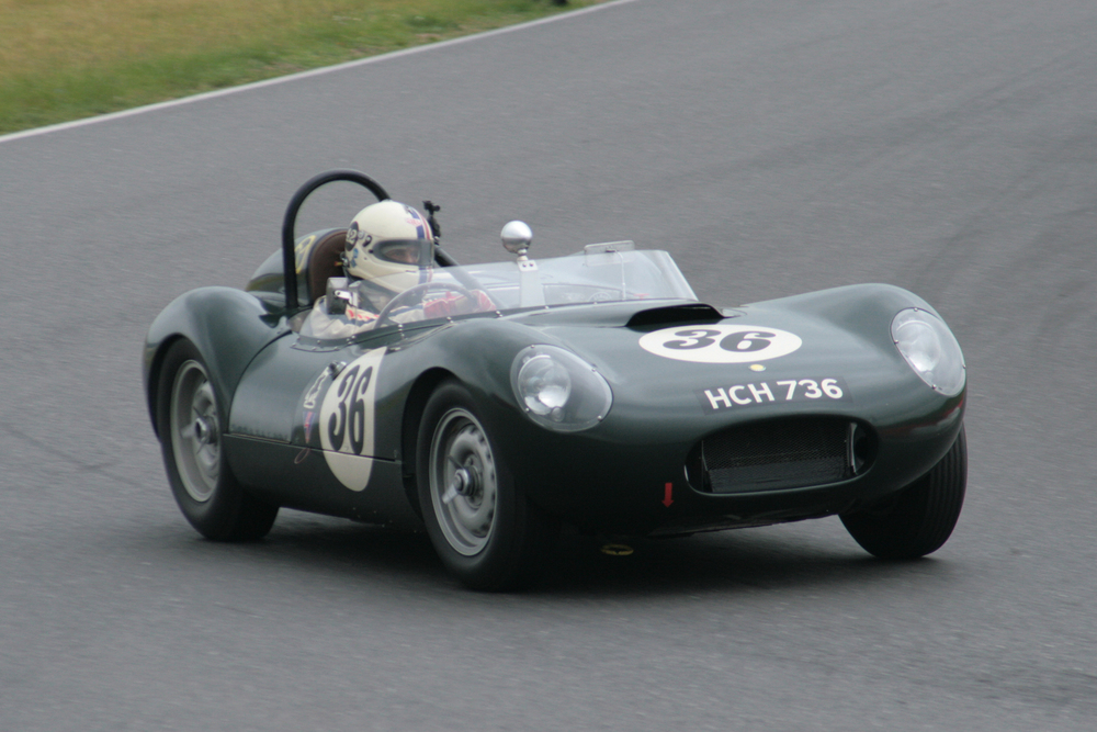 Stevee Boultbee-Brooks took pole in the Lister Jaguar Flatiron                                                Photo - John Turner