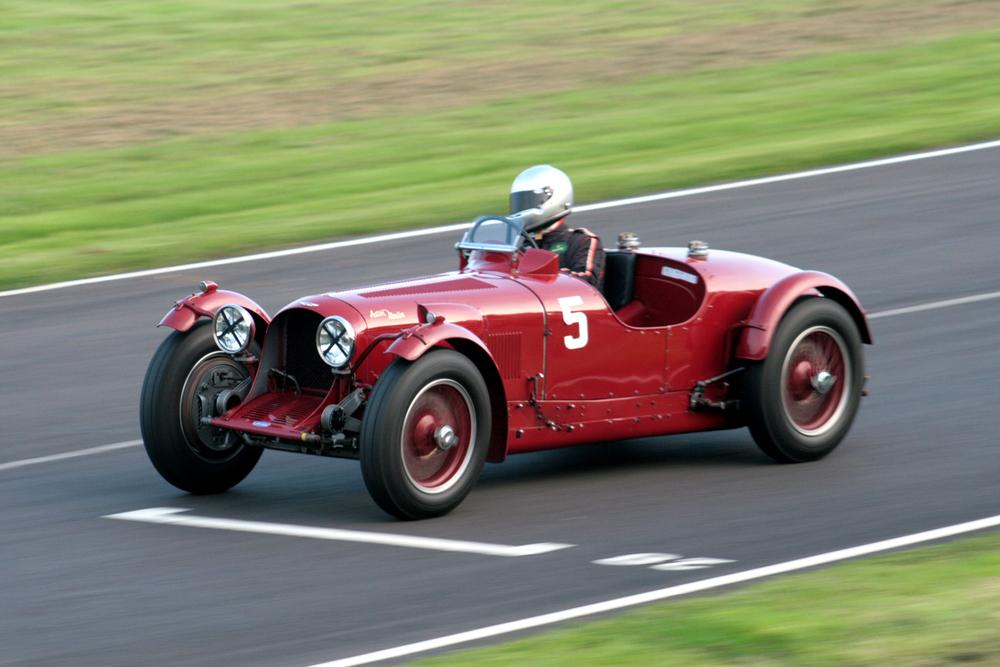 The Mort Goodall Cup was won by Mark Gillies in Richard Shipworth's Aston Martin Monoposto Speed Model  Photo -John Turner