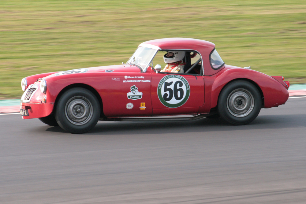 MGA team captain, Shaun Bromley hustles his MGA through the Esses                          Photo - John Turner