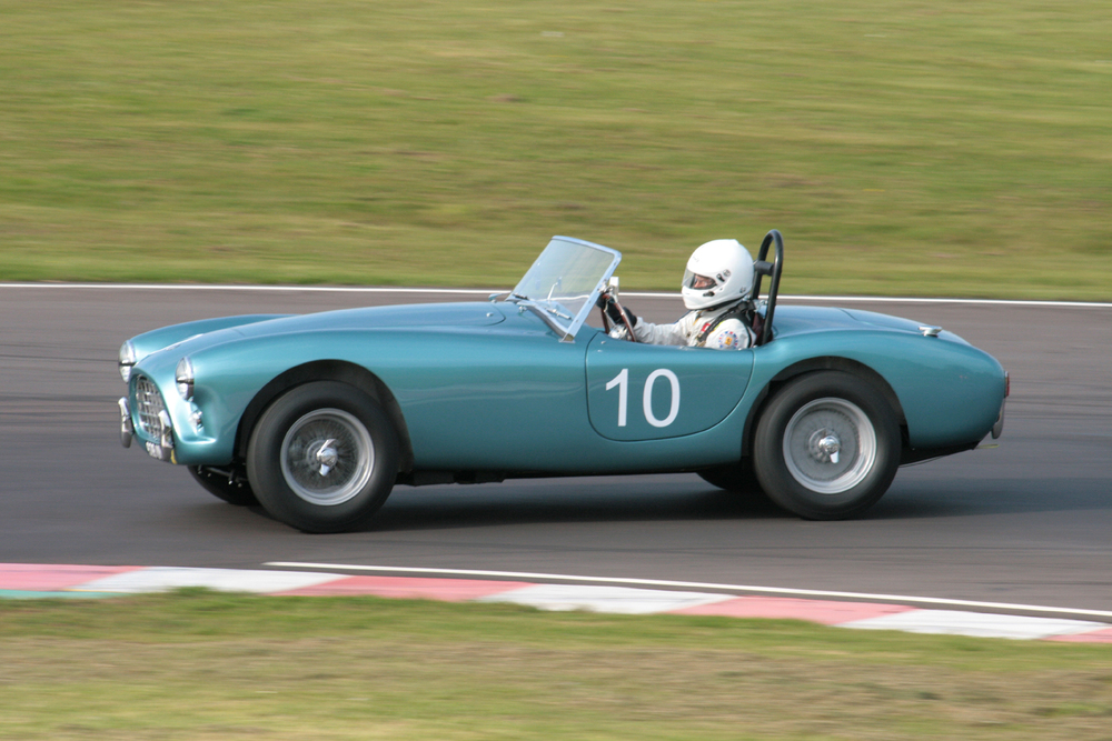 David Cottingham in the lovely Ac Ace Bristol in which he finished 21st           Photo - John Turner