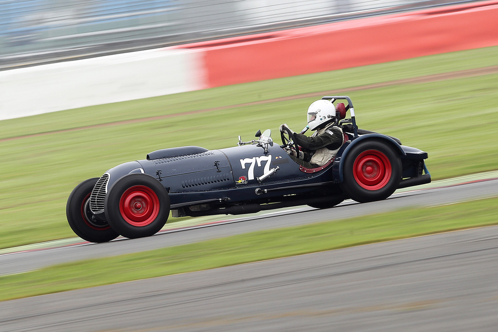 Rob Manson in the Baldwin Mercury Special, a great guest car                                                   Photo - Mick Walker