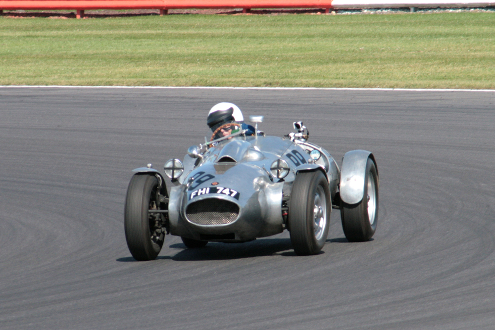 Peter Campbell in his Wingfield Bristol Special                                             Photo - John Turner