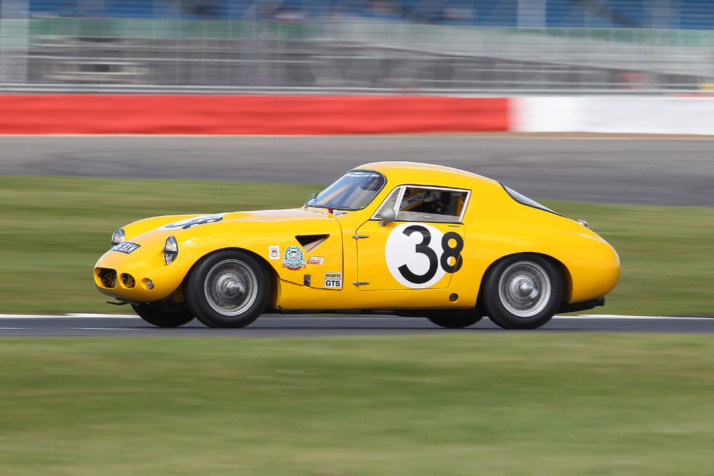 The voluptuous lines of the original Sebring Sprite, unlike any other, are shown to good effect here        Photo - Mick Walker