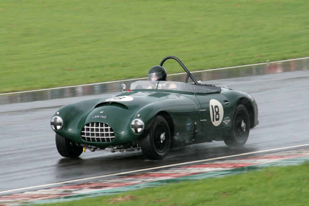 A very welcome late addition to our grid was Charles Fripp in his Gomm Jaguar                                             Photo - John Turner