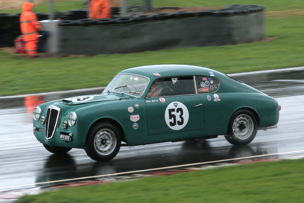 It's been good to see Chris Gawne return to us this year in his Lancia Aurelia B2oGT                          Photo -  John Turner.