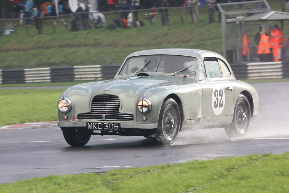 Mark Campbell presses on his ex Le Mans DB2. It was great to see both Mark and the car out after such a long break.        Photo - Pat Arculus, Tripos Media