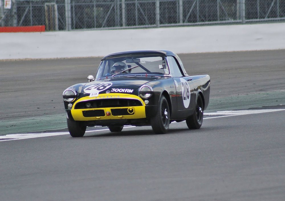 Keith Hampson's Sunbeam Alpine Le Mans                                                                                            Photo- Bob Bull, Tripos Media