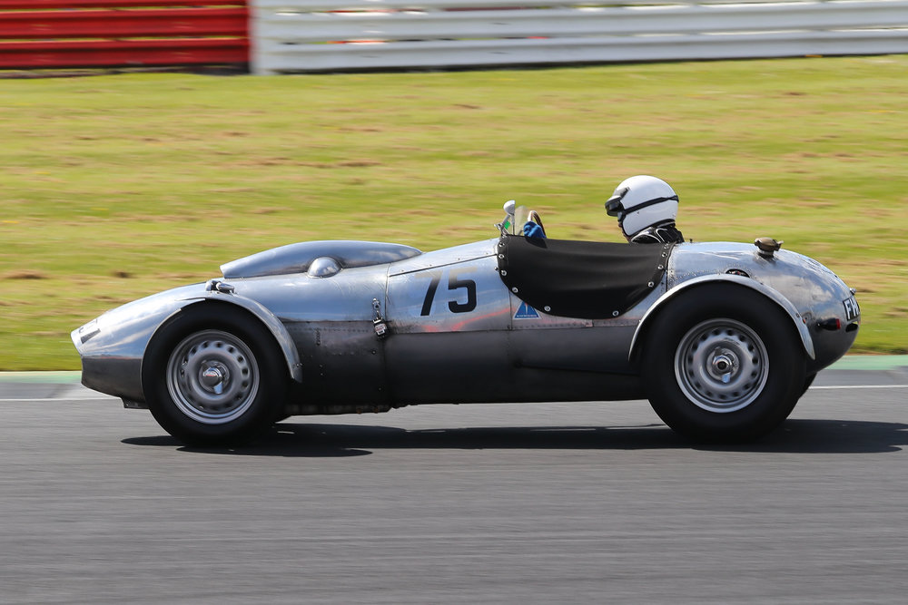 Peter Campbell in his Wingfield Bristol Special                                    Photo - Richard Styles