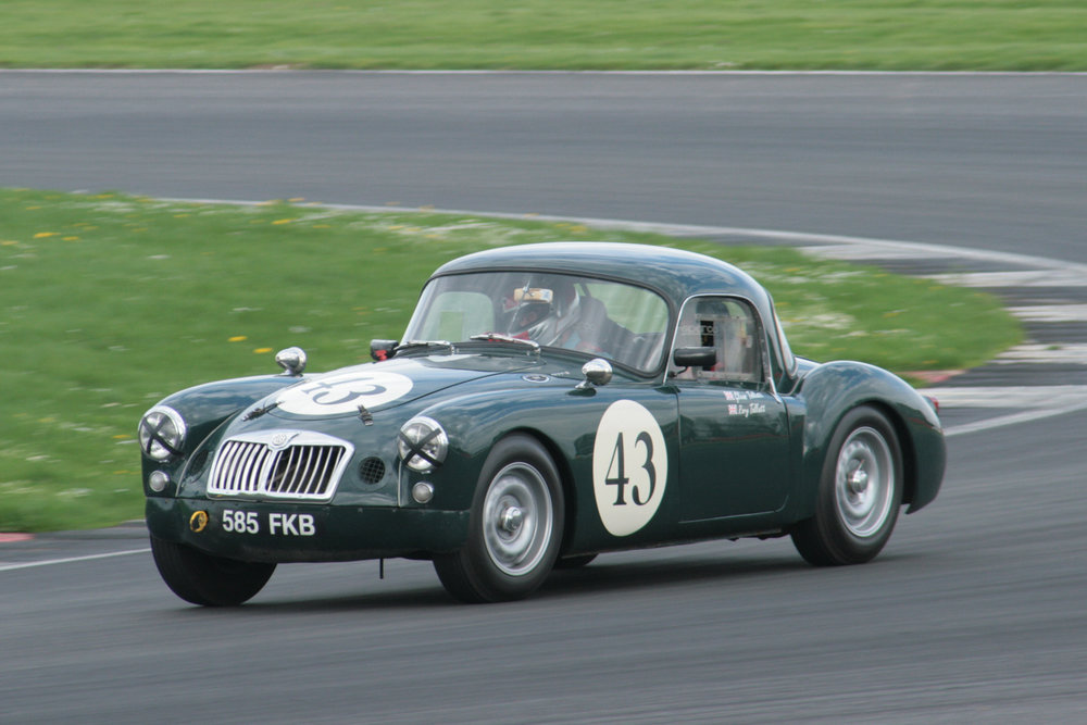 Glenn Tollett presses on in the MGA Sebring                                                                                               Photo - John Turner
