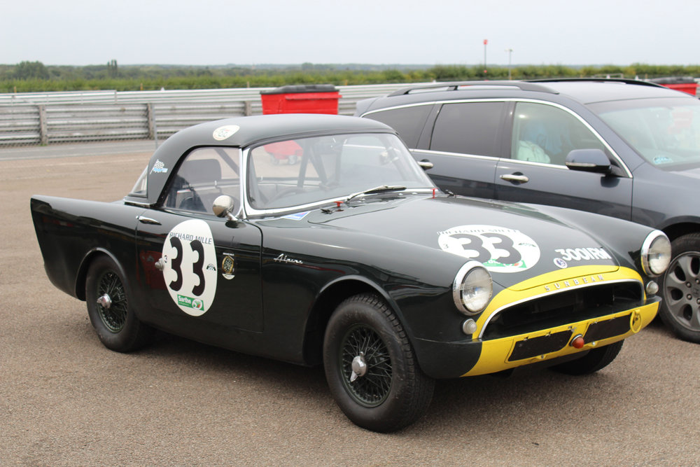 Keith Hampson's Sunbeam Alpine Le Mans, always a welcome sight, which he shared with Tristan Bradfield. Photo - John Turner