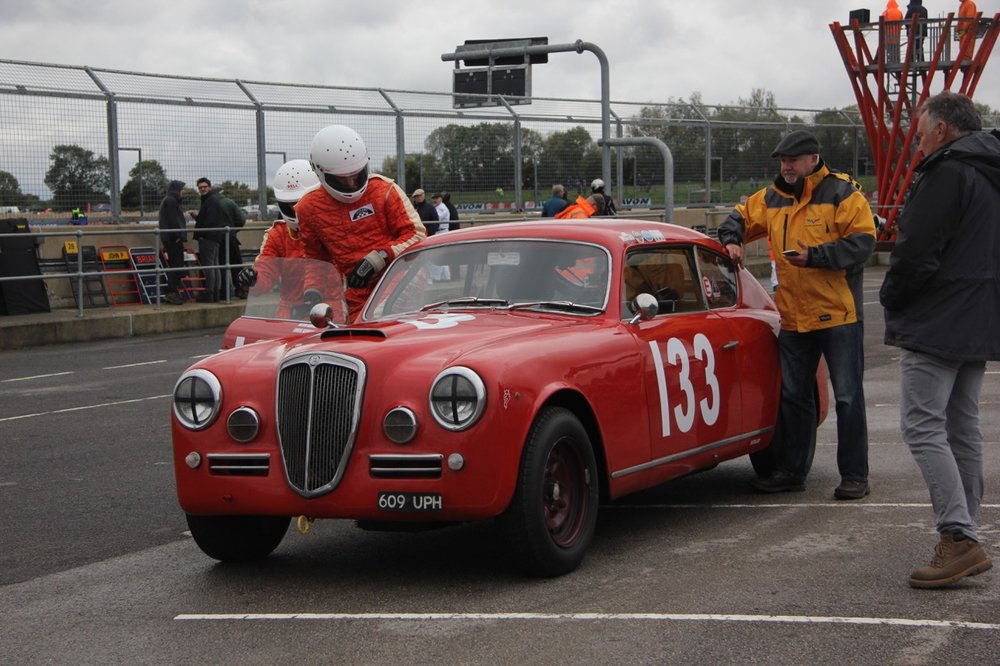 Italian Exotica. The Kennedy's Lancia Aurelia B20 GT- Jason takes over from Louise  Photo - Pat Arculus, Tripos Media