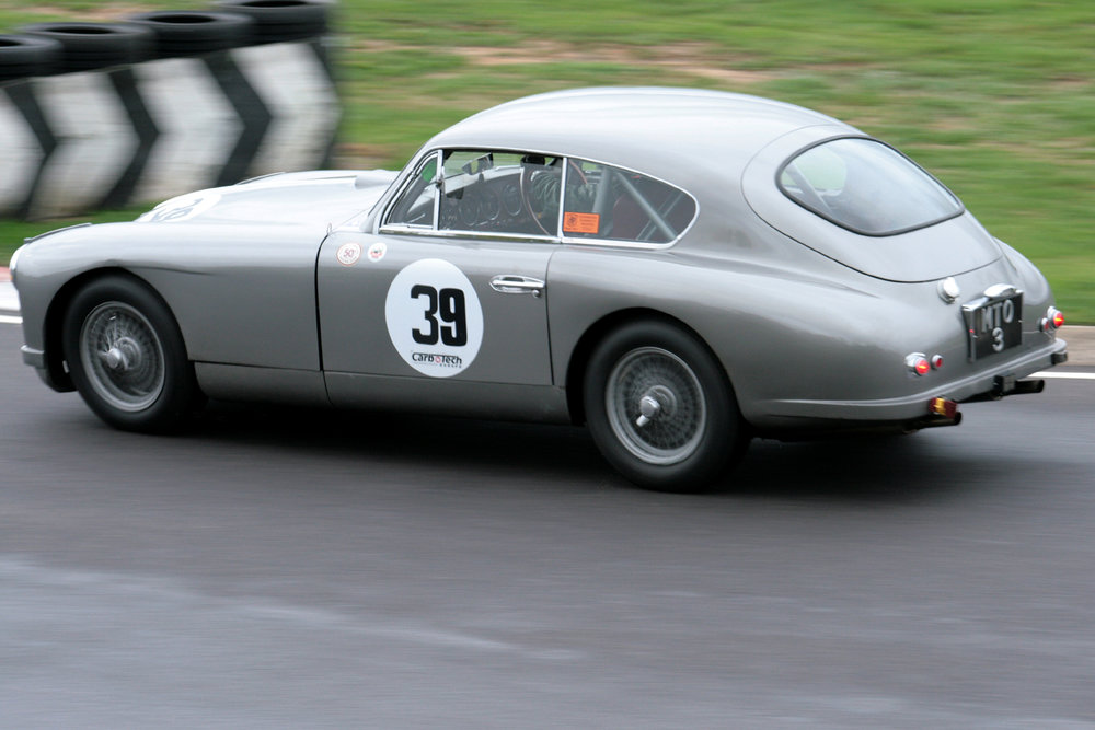 Ann excellent 7th place finish was recorded by Tim Stamper in Richard Bell's Aston Martin DB2/4  Photo - John Turner
