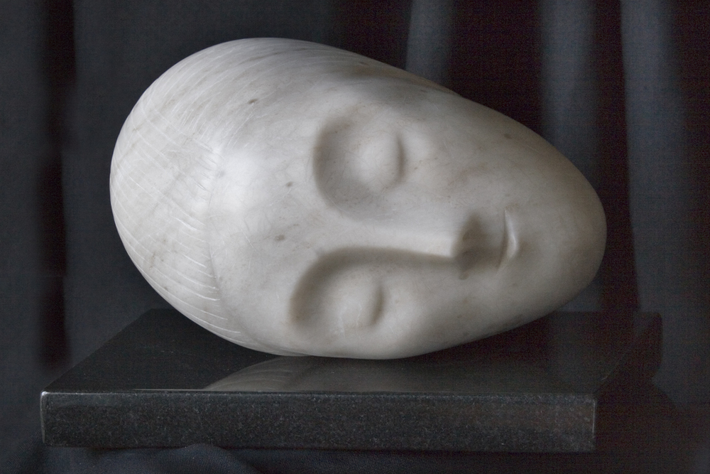 Inspired by Brancusi's Sleeping Muse