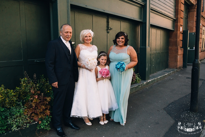 Arta Glasgow wedding