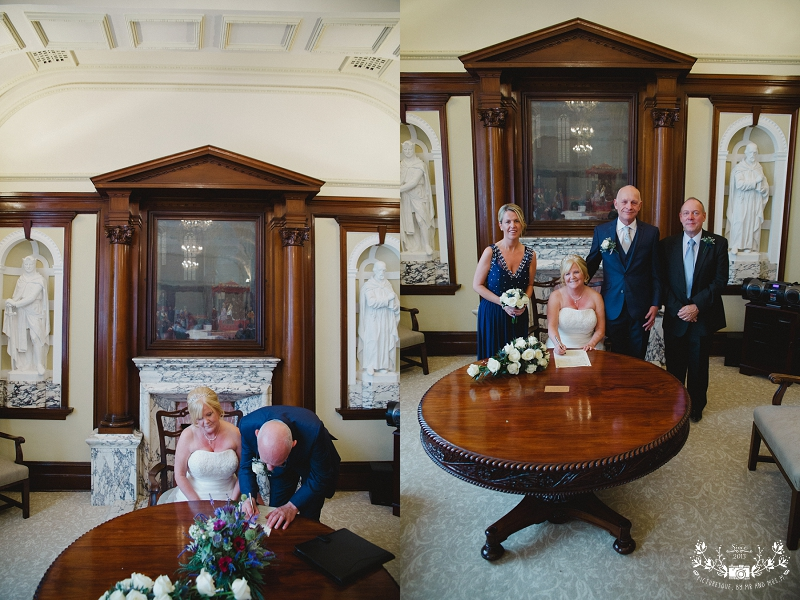Stirling Registry Office wedding