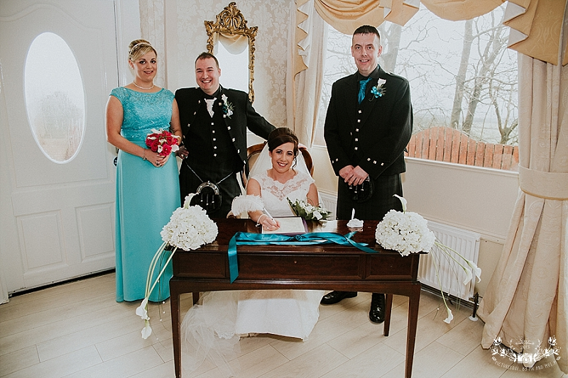 The Three Kings Falkirk wedding photography