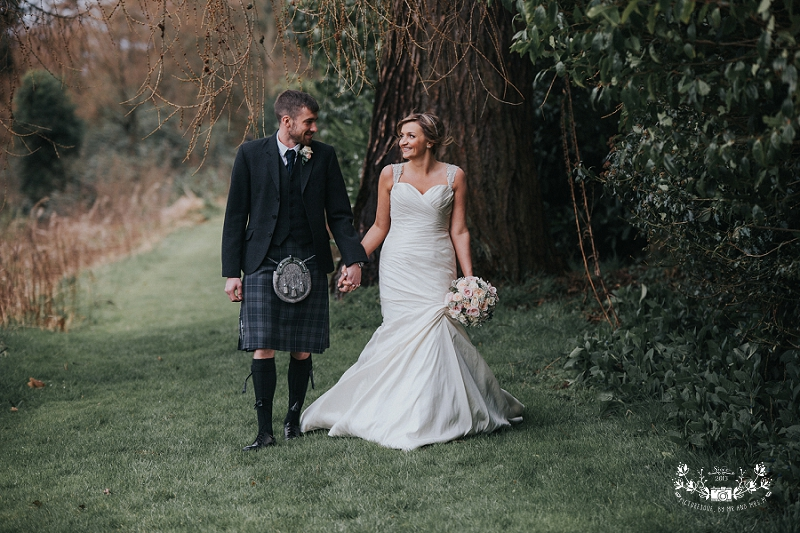 Airth castle wedding
