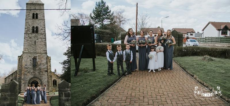Carriden church wedding