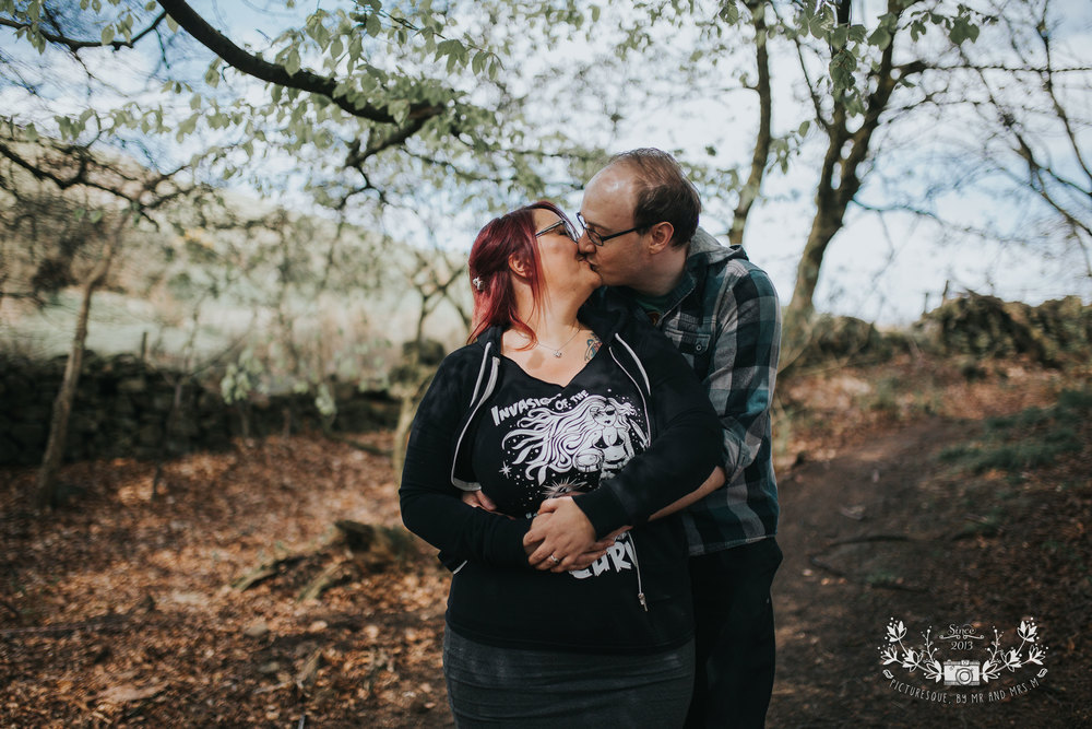 Cockleroy, Falkirk engagement photos