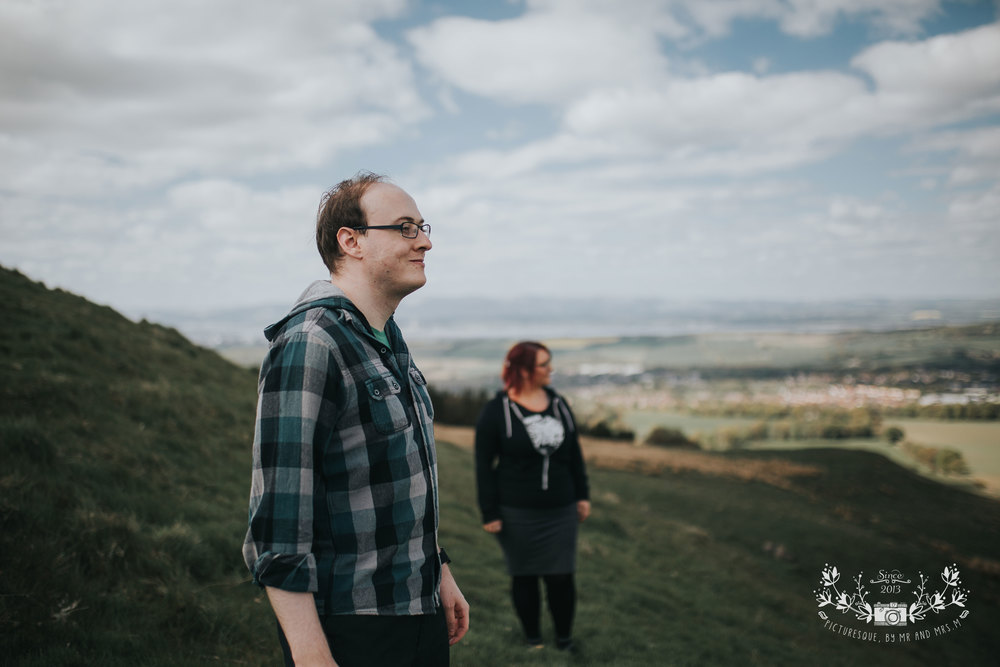 Cockleroy, Falkirk, engagement photos