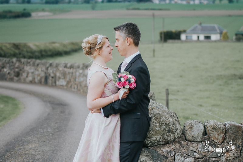 Scottish farm wedding photography